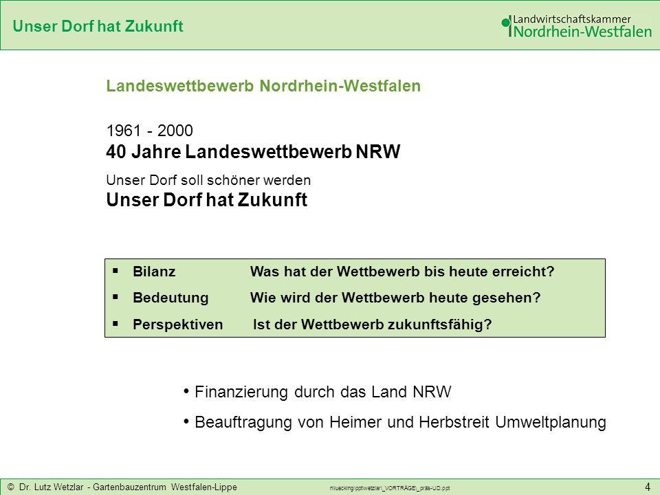 Landeswettbewerb Nordrhein-Westfalen