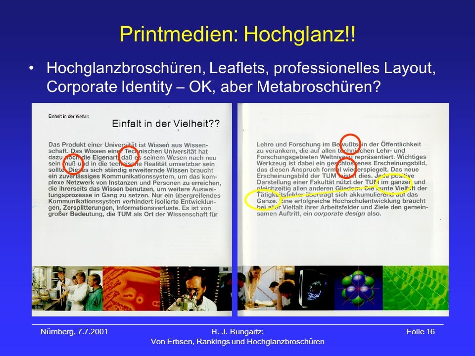 Printmedien: Hochglanz!!
