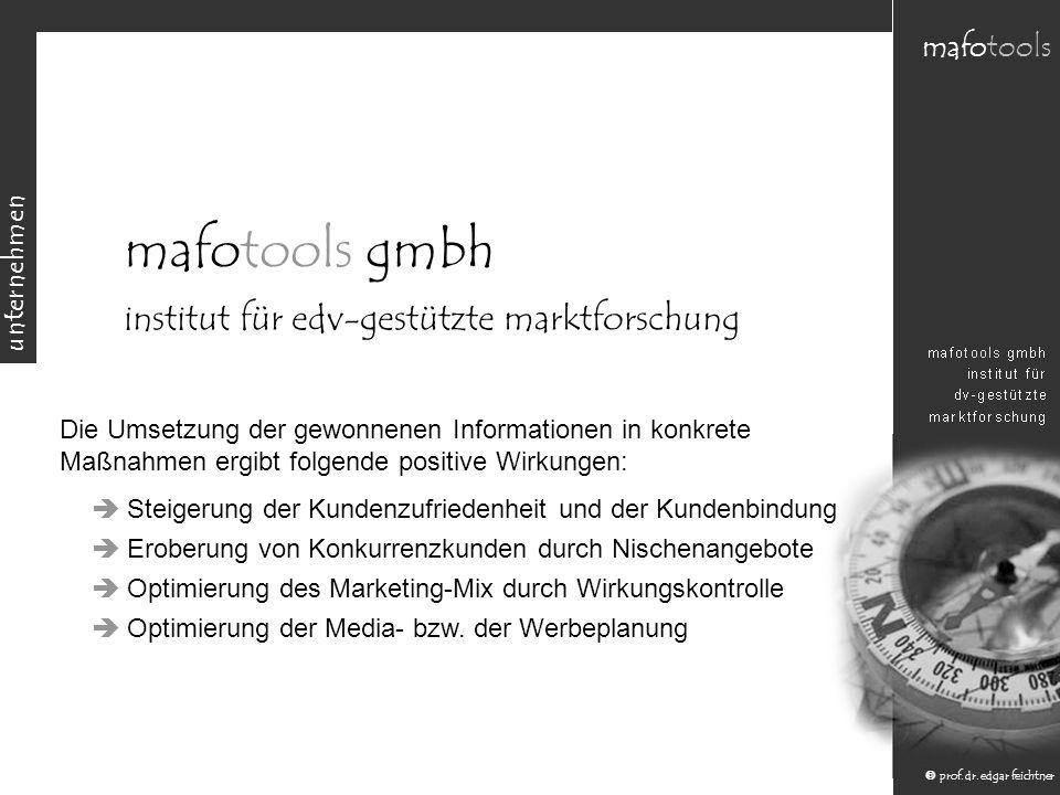 mafotools gmbh institut für edv-gestützte marktforschung