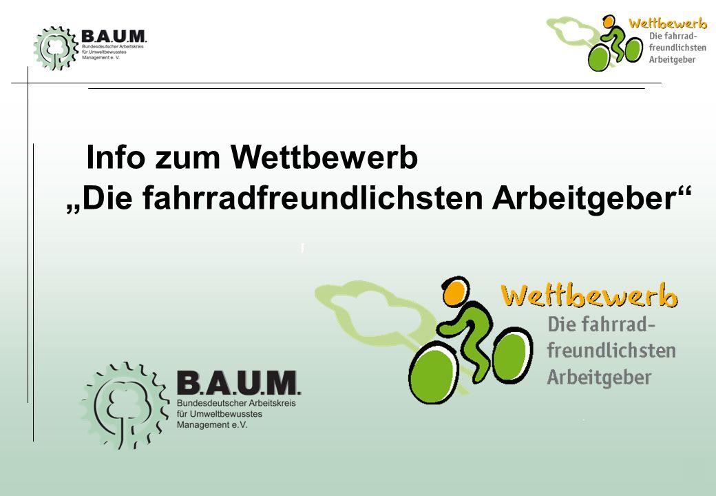 """Info zum Wettbewerb """"Die fahrradfreundlichsten Arbeitgeber"""