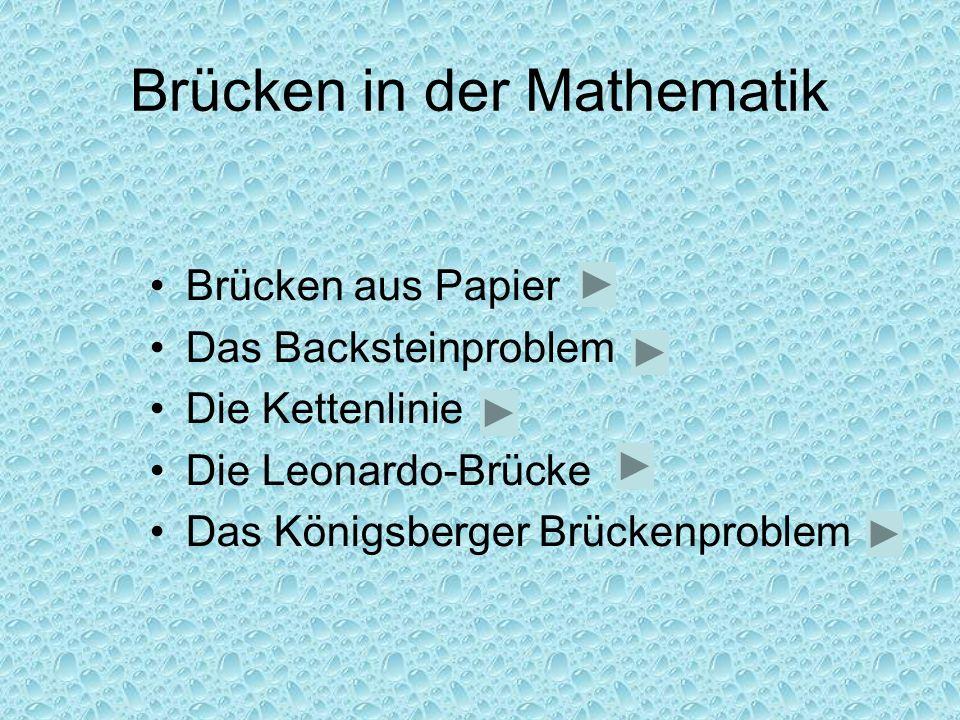 Brücken in der Mathematik