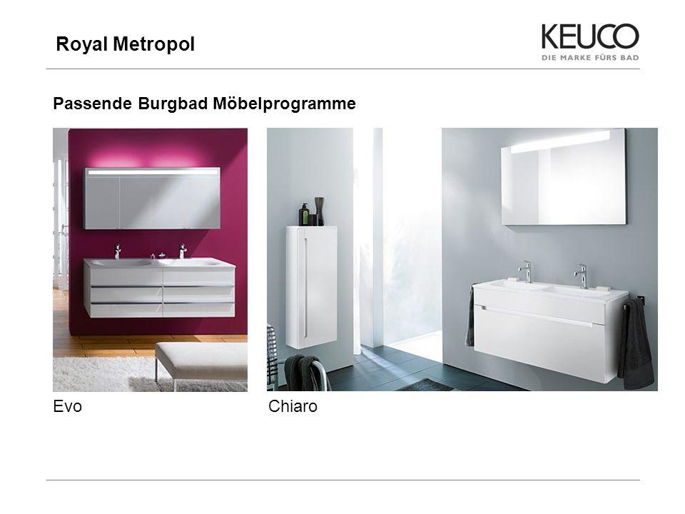 Royal Metropol Passende Burgbad Möbelprogramme Evo Chiaro 10
