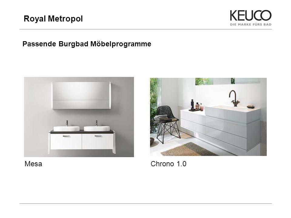Royal Metropol Passende Burgbad Möbelprogramme Mesa Chrono 1.0 9