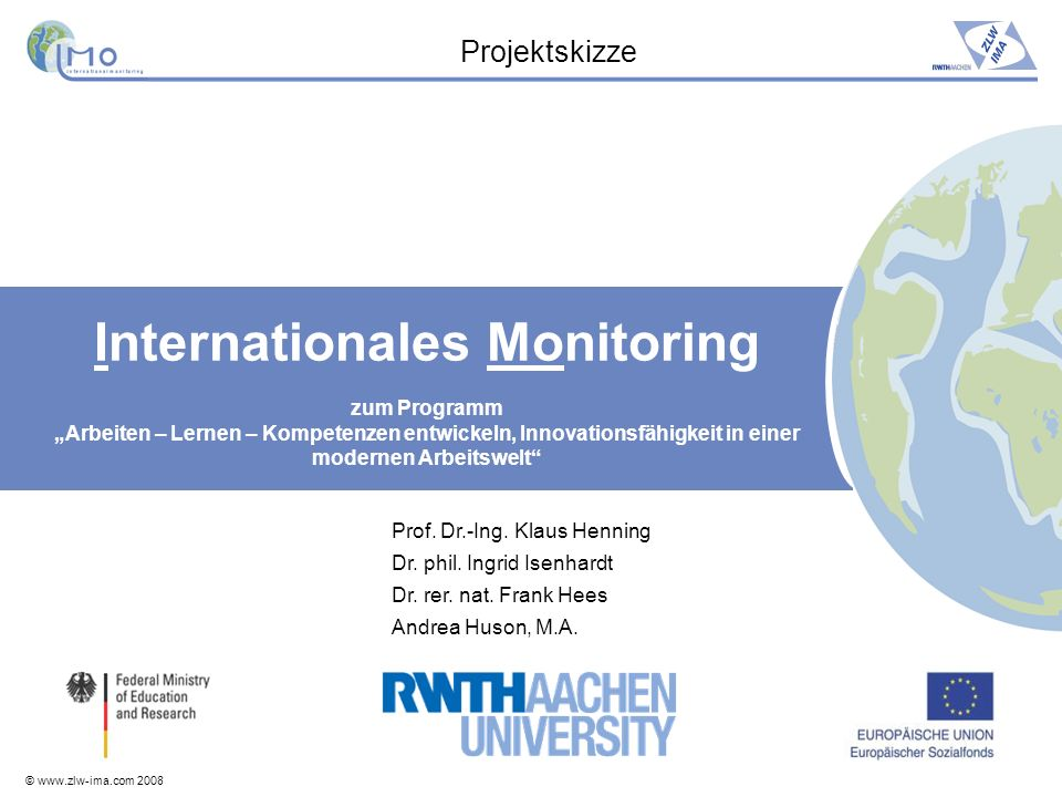 Internationales Monitoring