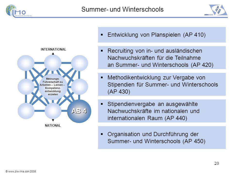 Summer- und Winterschools