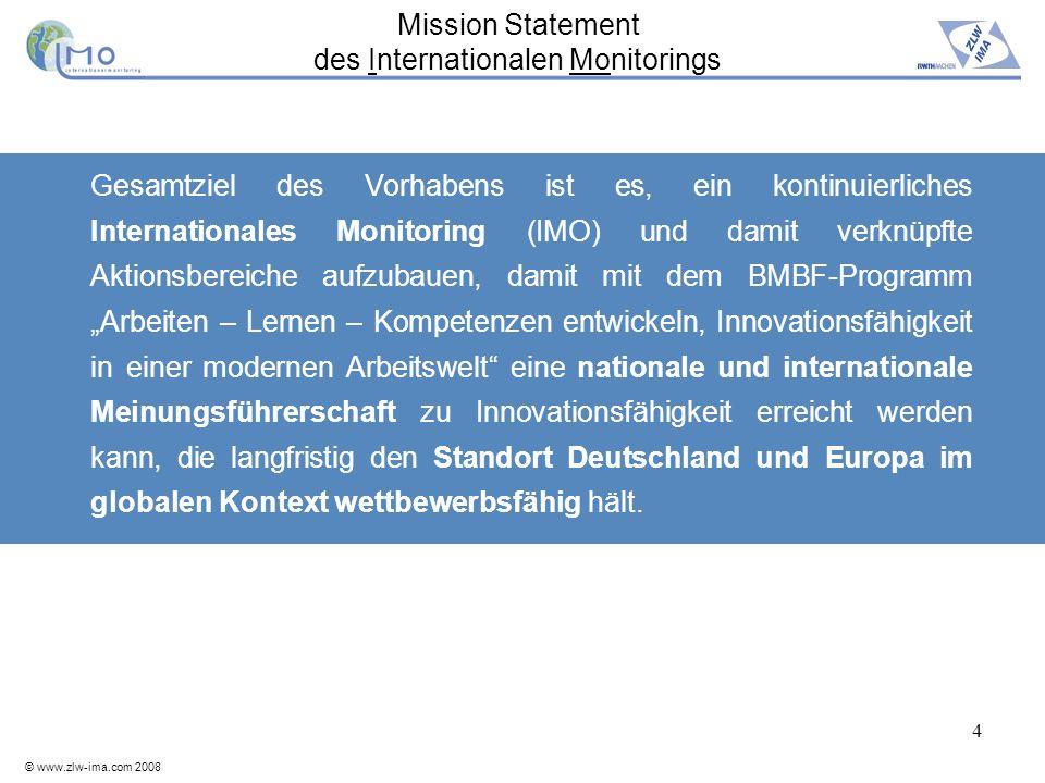 Mission Statement des Internationalen Monitorings
