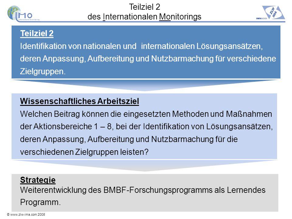 Teilziel 2 des Internationalen Monitorings