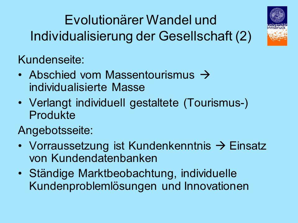 Evolutionärer Wandel und Individualisierung der Gesellschaft (2)