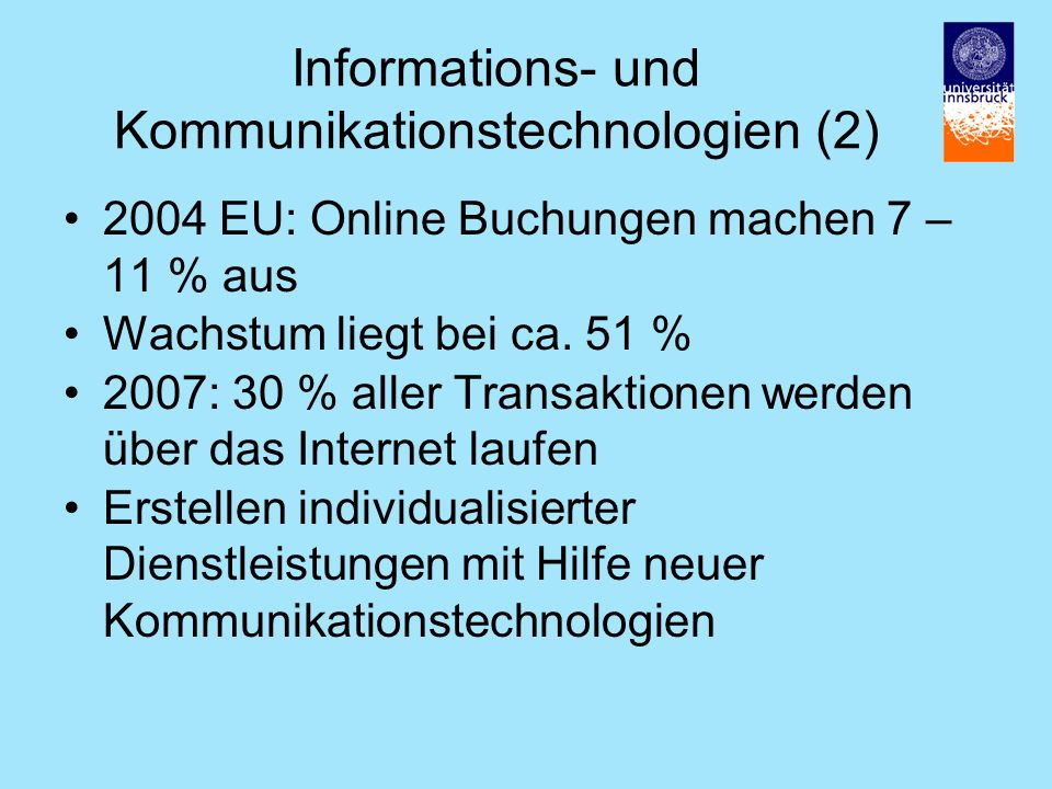 Informations- und Kommunikationstechnologien (2)