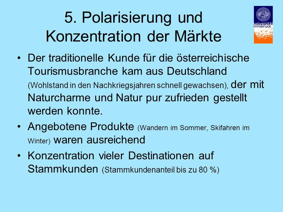 5. Polarisierung und Konzentration der Märkte