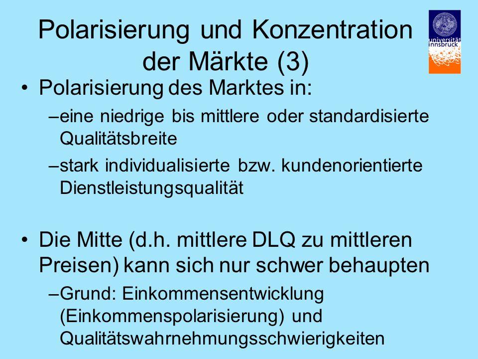 Polarisierung und Konzentration der Märkte (3)