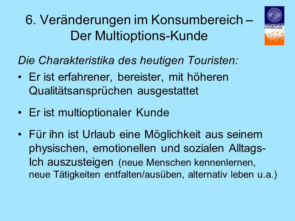 6. Veränderungen im Konsumbereich – Der Multioptions-Kunde