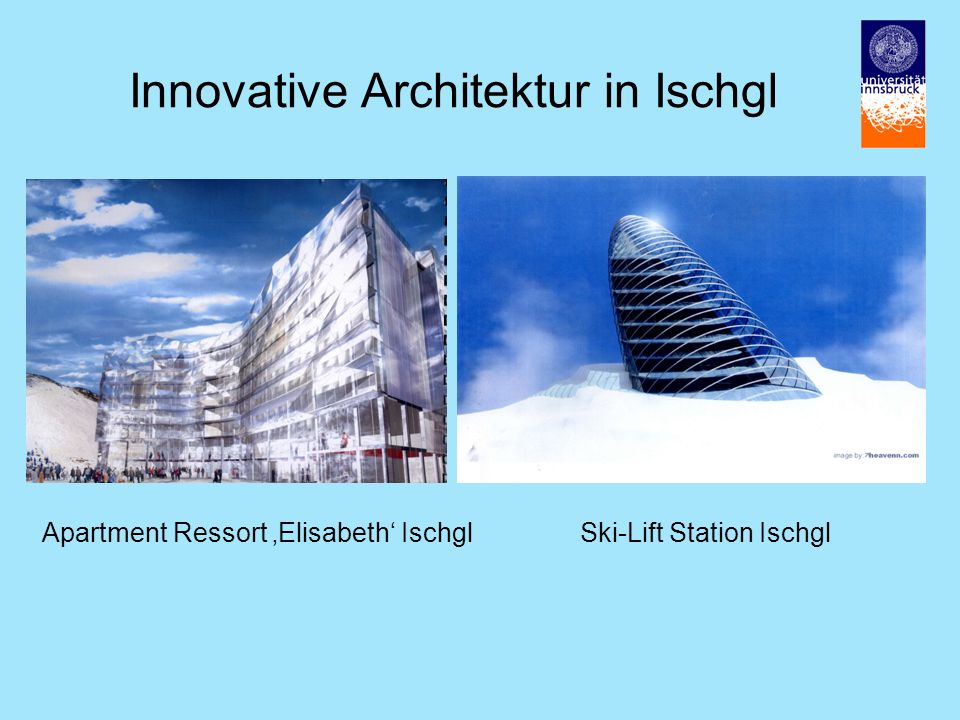 Innovative Architektur in Ischgl