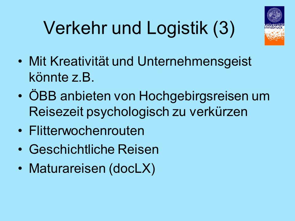 Verkehr und Logistik (3)