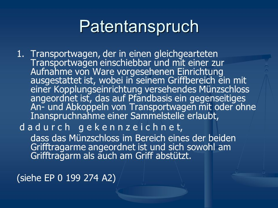 Patentanspruch