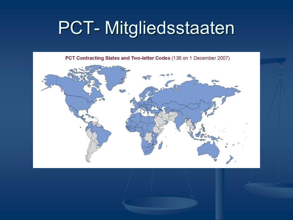 PCT- Mitgliedsstaaten
