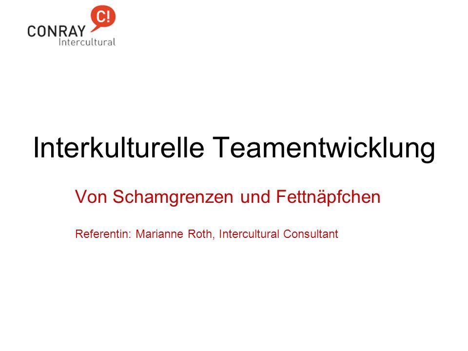 Interkulturelle Teamentwicklung
