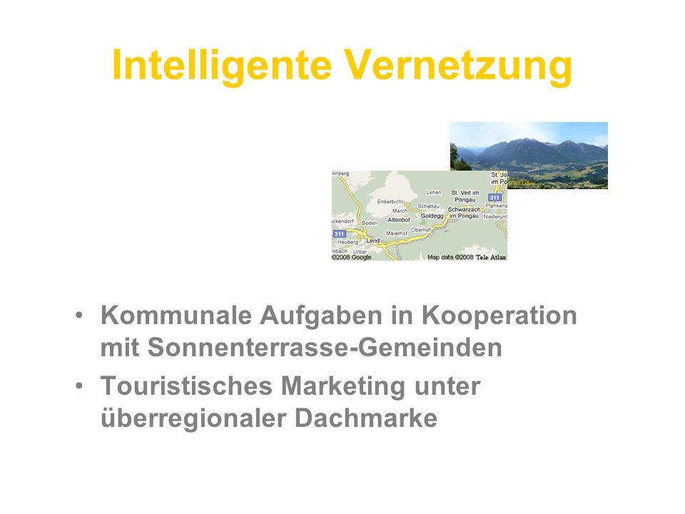 Intelligente Vernetzung
