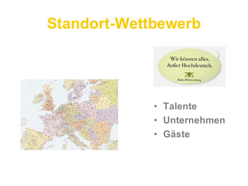 Standort-Wettbewerb Talente Unternehmen Gäste