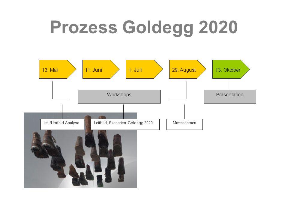 Prozess Goldegg 2020 13. Mai 11. Juni 1. Juli 29. August 13. Oktober