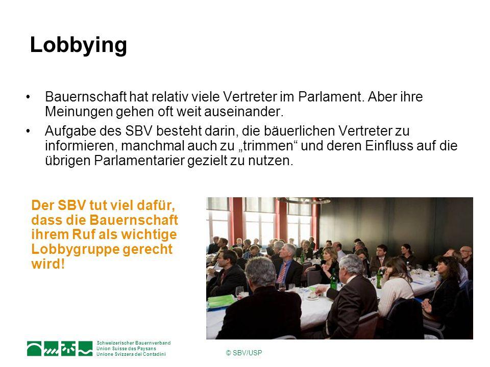Lobbying Bauernschaft hat relativ viele Vertreter im Parlament. Aber ihre Meinungen gehen oft weit auseinander.