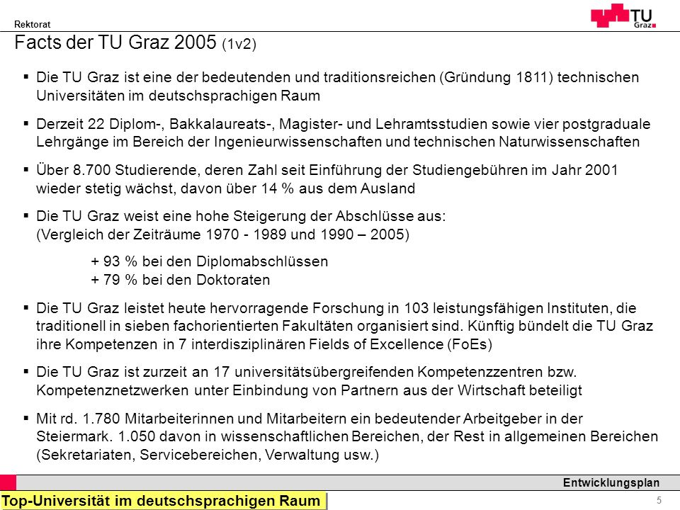 Facts der TU Graz 2005 (1v2)