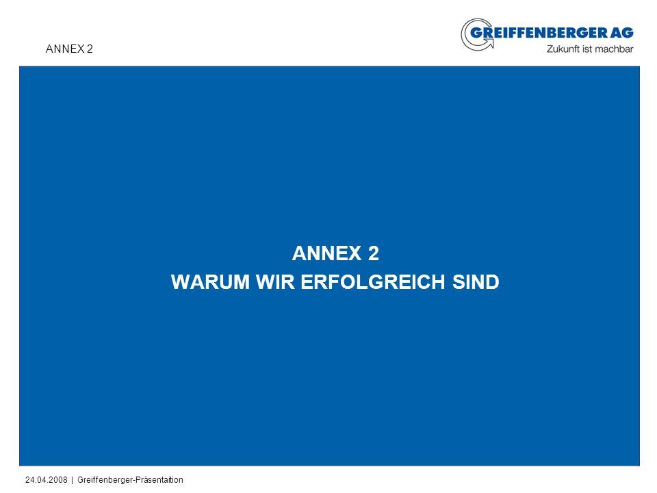 ANNEX 2 WARUM WIR ERFOLGREICH SIND