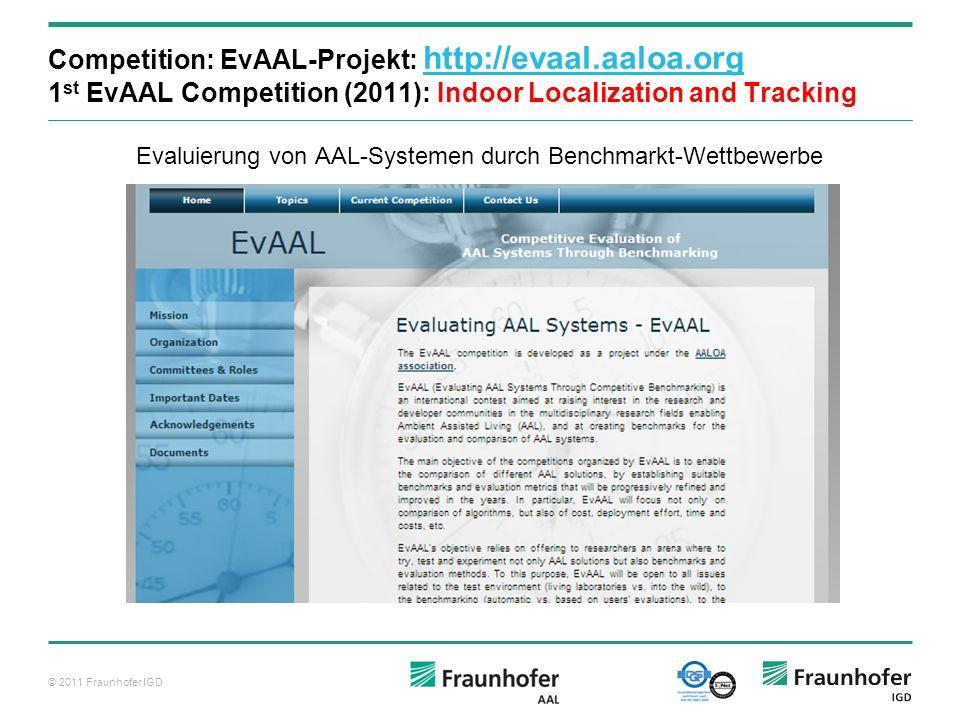 Evaluierung von AAL-Systemen durch Benchmarkt-Wettbewerbe