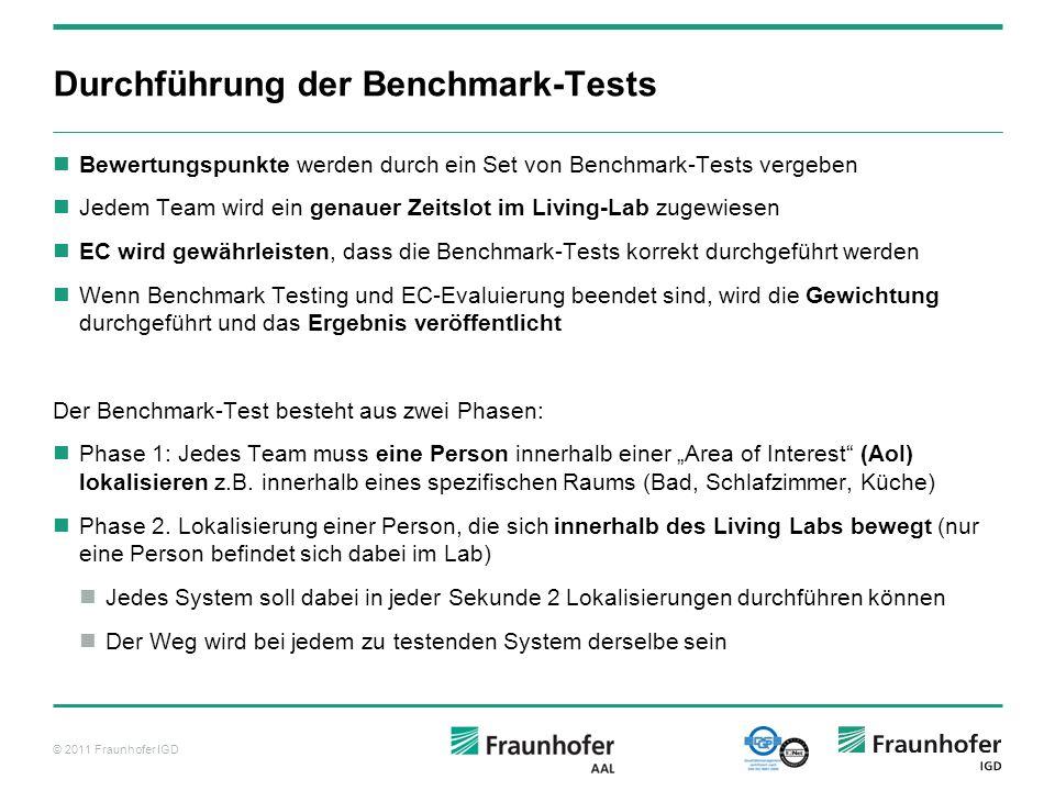 Durchführung der Benchmark-Tests