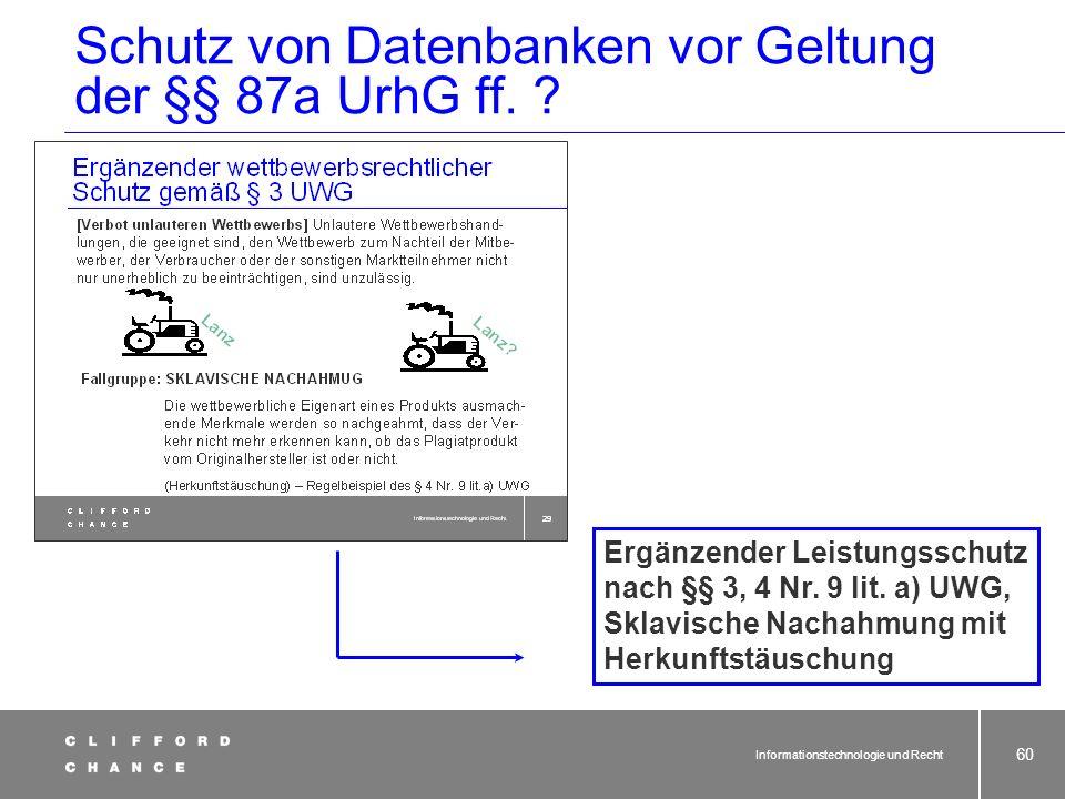 Beispiel: Tele-Info-CD – Entscheidung des BGH