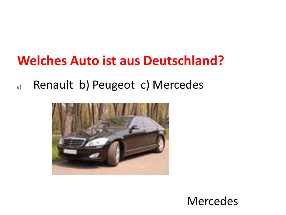 Welches Auto ist aus Deutschland