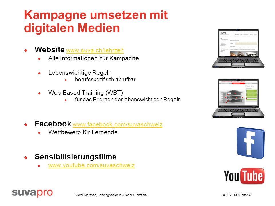 Kampagne umsetzen mit digitalen Medien