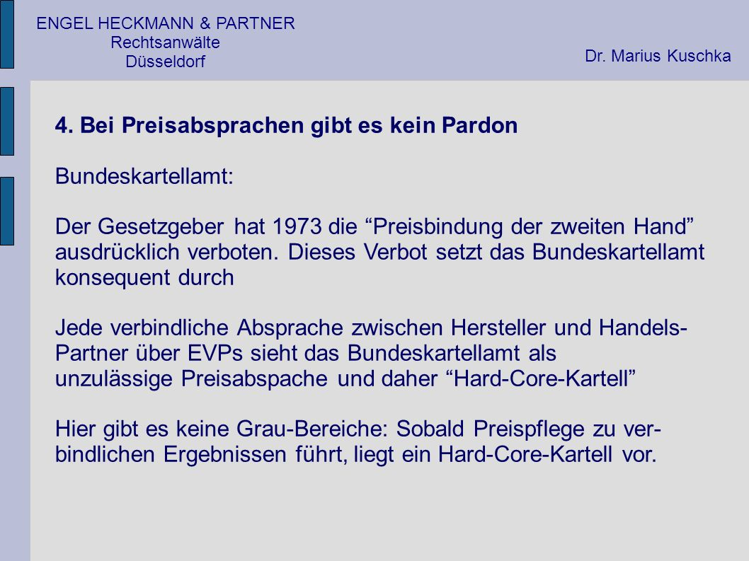 ENGEL HECKMANN & PARTNER