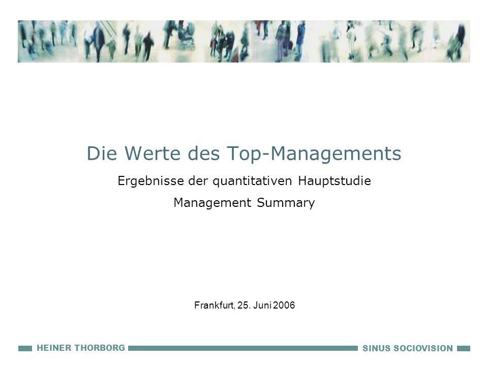 Die Werte des Top-Managements