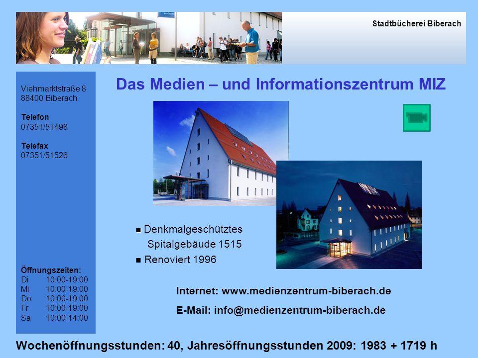 Das Medien – und Informationszentrum MIZ