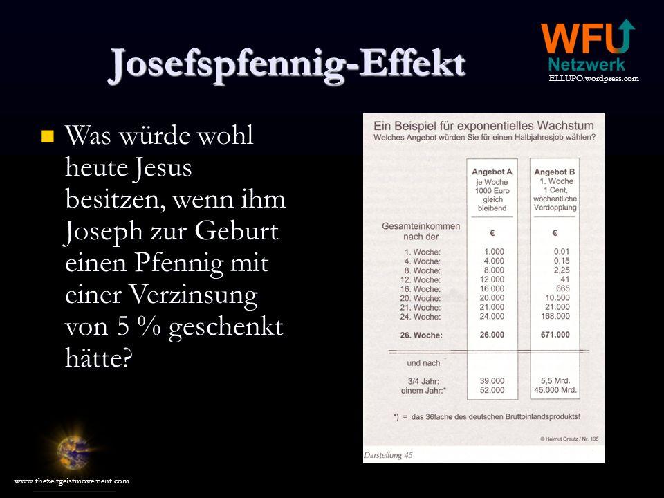 Josefspfennig-Effekt