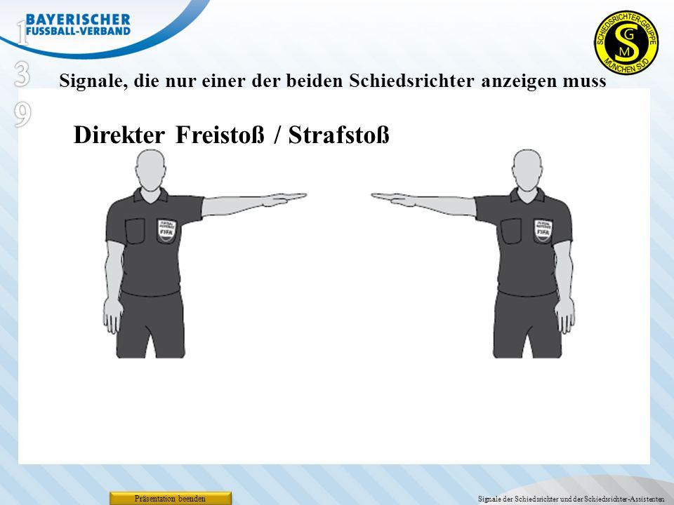 139 Direkter Freistoß / Strafstoß