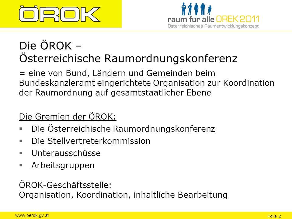 Die ÖROK – Österreichische Raumordnungskonferenz