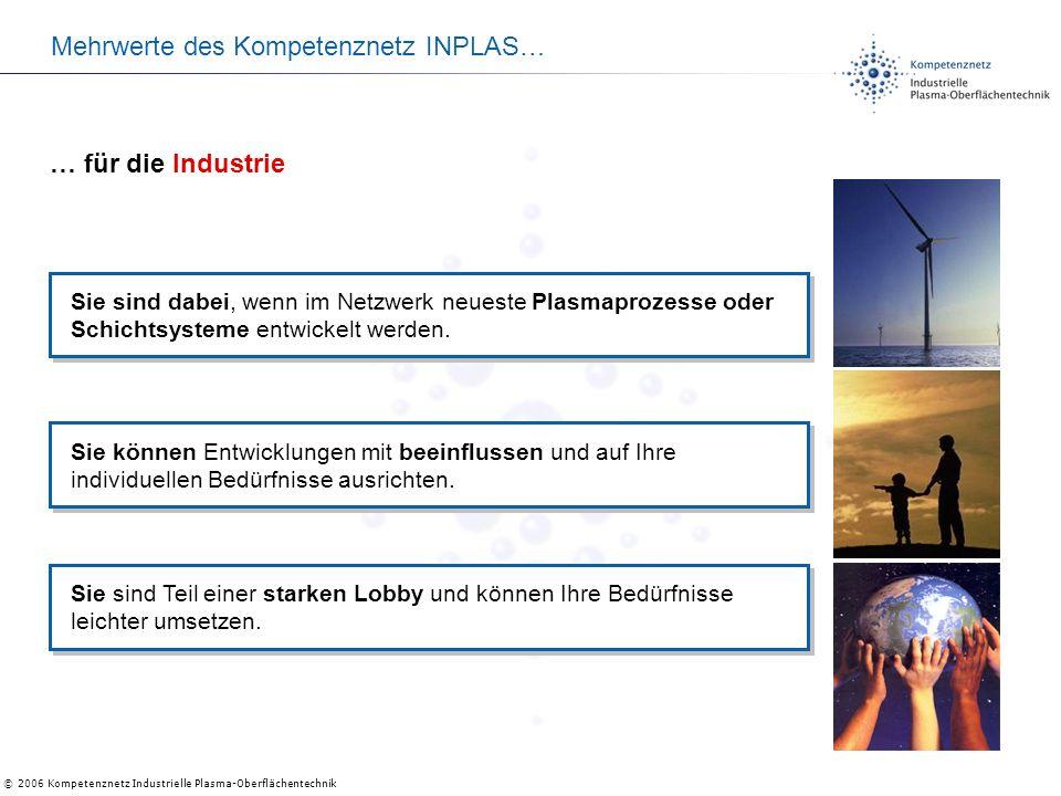 Mehrwerte des Kompetenznetz INPLAS…