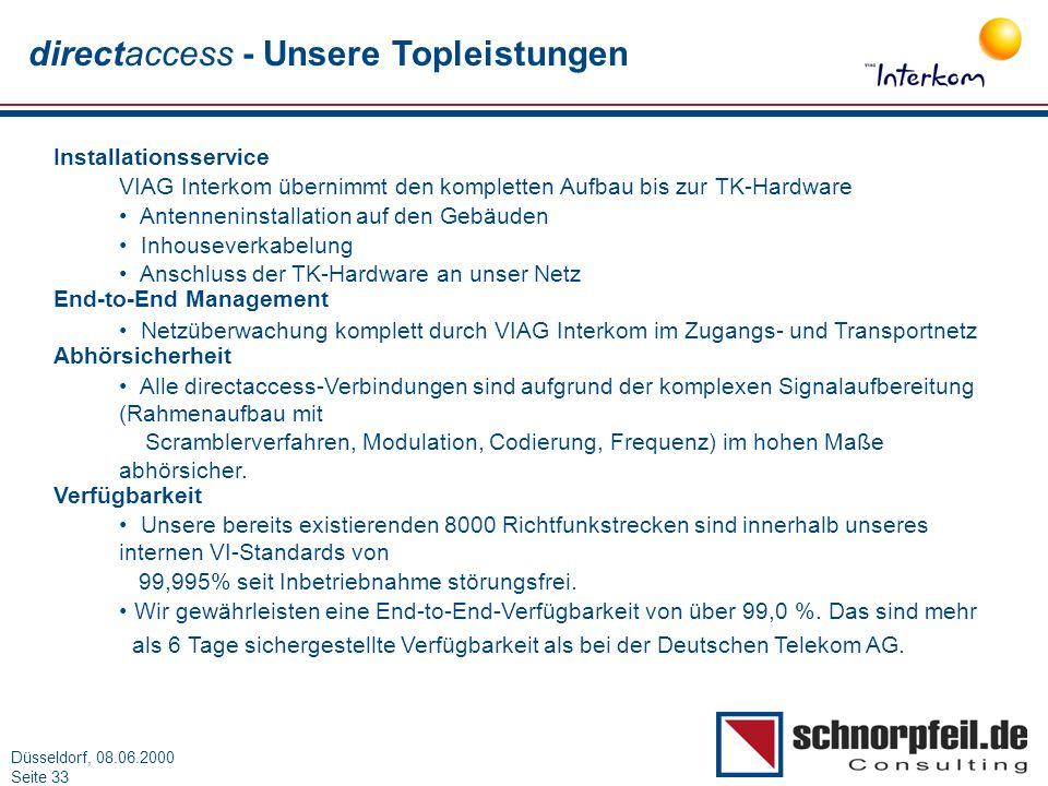 directaccess - Unsere Topleistungen