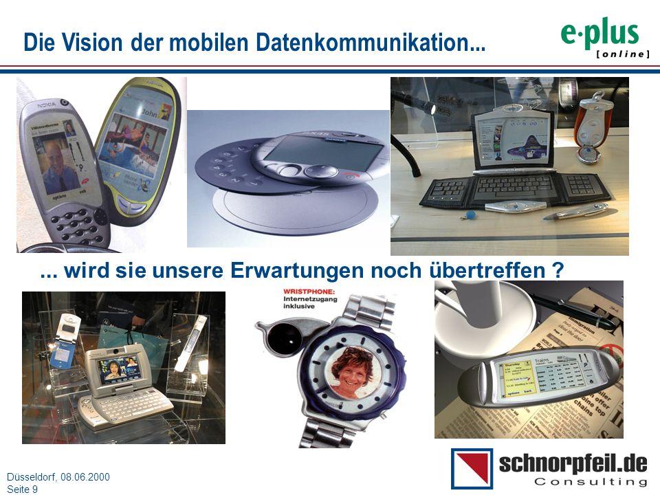 Die Vision der mobilen Datenkommunikation...