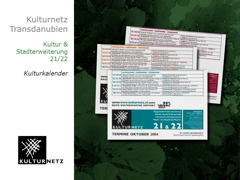 Kulturnetz Transdanubien Kultur & Stadterweiterung 21/22