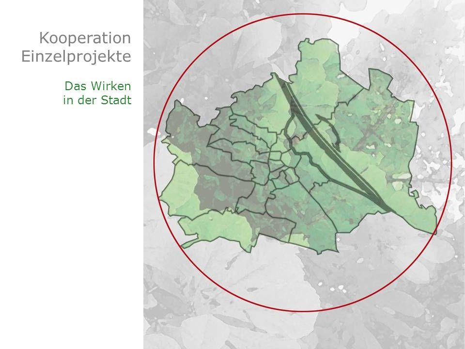 Kooperation Einzelprojekte Das Wirken in der Stadt
