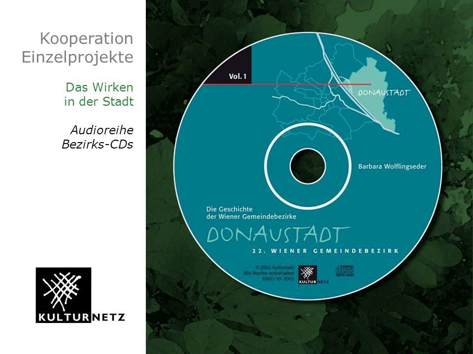 Kooperation Einzelprojekte Das Wirken in der Stadt Audioreihe