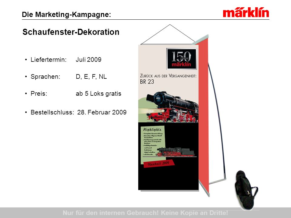 Die Marketing-Kampagne: