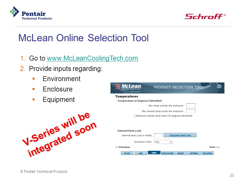 McLean Online Selection Tool