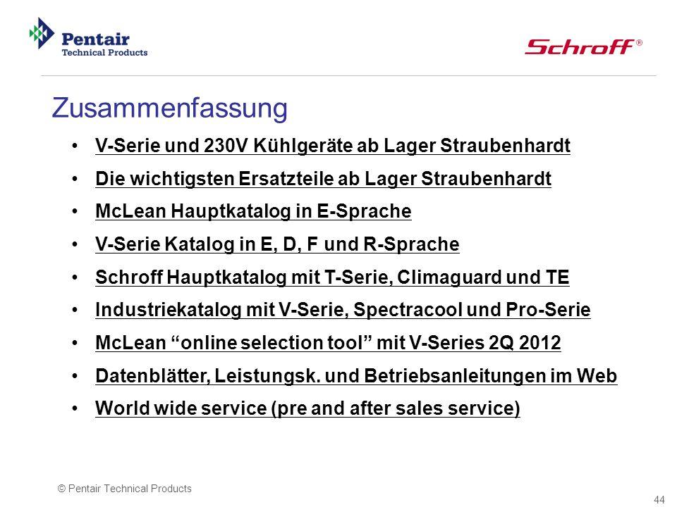 Zusammenfassung V-Serie und 230V Kühlgeräte ab Lager Straubenhardt