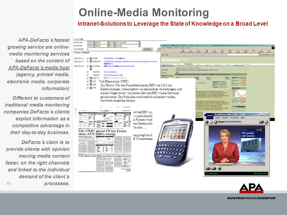 Online-Media Monitoring