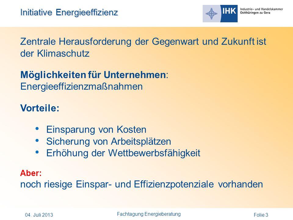 Initiative Energieeffizienz