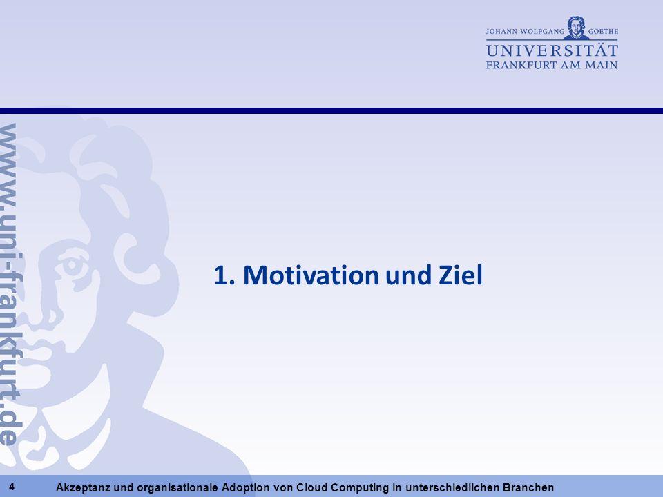 1. Motivation und Ziel